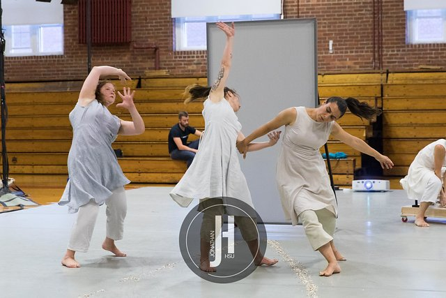 Work in progress showing at Bates Dance Festival. Photo by Jonathan Hsu.